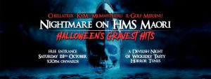 Nightmare on HMS Maori - Halloween Gravest Hits @ Maori | Valletta | Malta