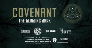 Covenant Live in Malta - Sat 3 Feb 2018